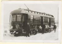 Railway post office car #108, York, ca. 1920