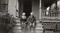 Mr. and Mrs. Elmer Tuttle, Fairfield, 1920