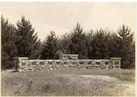 Bowdoin Circle Monument, Fairfield, ca. 1930