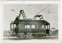 Construction car, Portland, ca. 1920