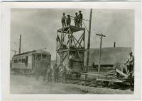 Tower car, Presque Isle, ca. 1910