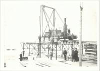 Old Orchard Pier under contstruction, ca. 1898