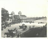Old Orchard Beach and Pier, before 1907