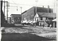 Pepperel Square, Saco ca. 1900