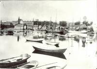 Ships in Saco River, ca. 1890