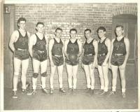 Church League Basketball Team, Saco and Biddeford, ca. 1938