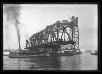 Building Memorial Bridge, Portsmouth, 1922