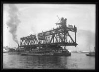 Memorial Bridge under construction, ca. 1922