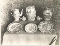 China dishes, Saco, 1907