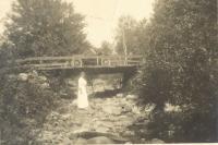 Marada Adams, Chatham, New Hampshire, 1913