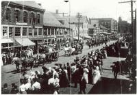 Parade on Main Street, Saco, ca. 1905