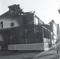 House fire, Old Orchard Beach, 1959