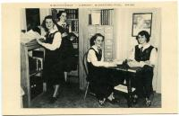"""Bibliotheque"" at Marie-Joseph Academy, Biddeford Pool, ca. 1950"