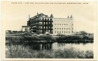 """""""Vue de cote"""" at Marie-Joseph Academy, Biddeford Pool, ca. 1950"""