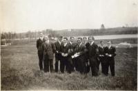 Good Will School's Junior Class, Fairfield, 1917