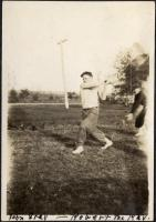 Good Will baseball, Fairfield, 1917