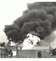 Richfield Oil Fire, Saco, 1953