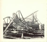 Old Orchard fire debris, Old Orchard Beach, 1948