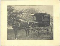 Saco Steam Laundry wagon, ca.1895