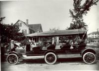 Jitney at Ocean Park, ca. 1920