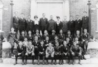 Good Will Grammar boys, Fairfield, 1918