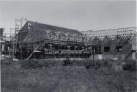 Swasey Building under Construction, Fairfield, 1965