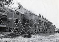 Vickers Building under construction, Fairfield, 1965