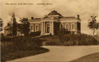 Carnegie Library, Fairfield, ca. 1920