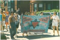Am Chofshi gay pride, Portland, 1990