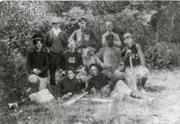 Good Will Youth Basketball Team, Fairfield, 1900