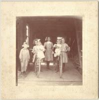 Four Saco children, ca. 1905