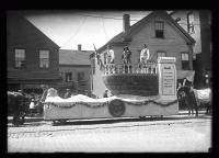 Maine Centennial Parade float, 'Dawn of Discovery,' Portland, 1920