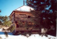 Blockhouse at Fort Halifax, Winslow, ca. 2000