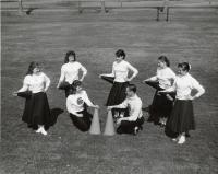 Cheerleaders, Fairfield, ca. 1955