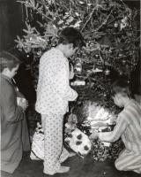 Christmas Morning at Good Will, Fairfield, ca. 1950