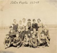 Violin pupils, Fairfield, 1918