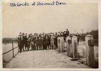 Good Will Boys at Shawmut Dam, Fairfield, 1920