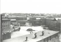 Back of Pepperell Mills, Biddeford, ca. 1930