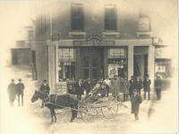 Simpson Brothers at F.E. Libby's, Biddeford, c. 1884