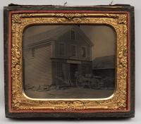 Lufkin and Noyes building, West Falmouth, ca. 1860