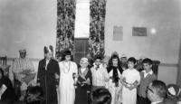 Beth Israel play, Waterville, ca. 1955