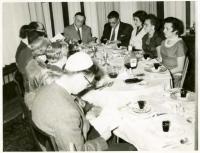 Family Passover Seder, Bangor, ca. 1940