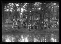 Indian Village at Deering Oaks Park, Portland, 1920