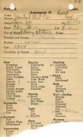 Assessor's Record, 491-503 Fore Street, Portland, 1924