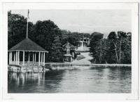 The lookout at Underwood Spring Park, Falmouth, ca. 1905