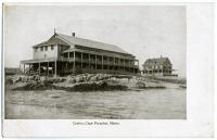 The casino at Cape Porpoise, ca. 1905
