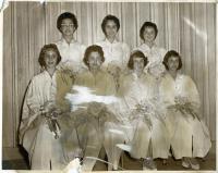 Bas Mitzvah class, Portland, 1961