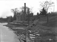 Water works and pumping station, Houlton, ca. 1900