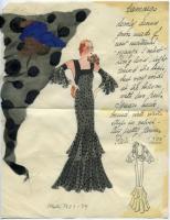 Dress 'Camarge,' Paris, ca. 1933
