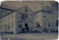 O.C. Palmer's Carriage Manufactory, Hallowell, ca. 1900